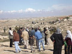 Three Palestinians arrested while working the land close to Suseya